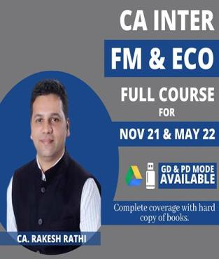 Video Lecture CA Inter FM & Eco Full Course By CA Rakesh Rathi