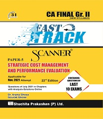 Shuchita Scanner CA Final SCMPE Fast Track Edition November 2021 Exam