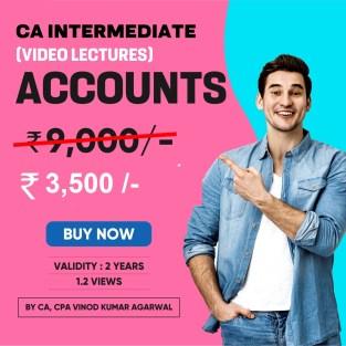 Video Lecture CA Inter Accounting Regular New By Vinod Kumar Agarwal