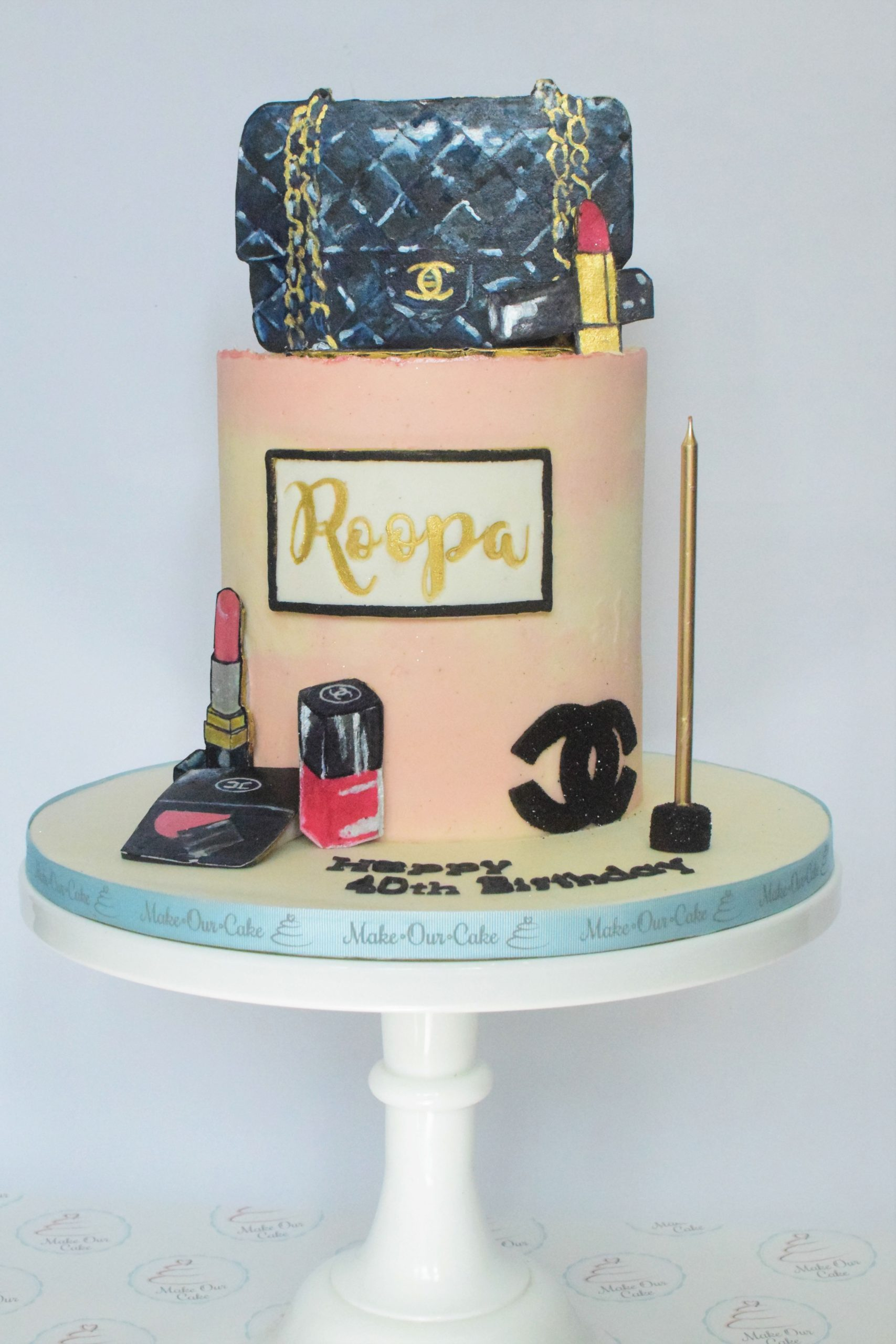 makeup cake - style 1