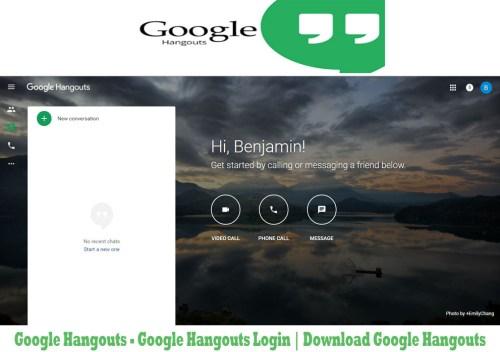 Google Hangouts - Google Hangouts Login | Download Google Hangouts