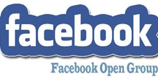 Facebook Open Group