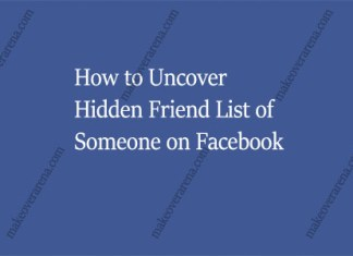 How to Uncover Hidden Friend List of Someone on Facebook