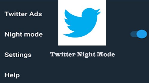 Twitter Night Mode - Steps on How to Enable Twitter Night Mode