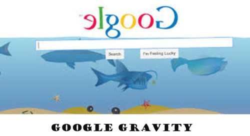 Google Gravity | Google Gravity Tools | How to Use Google Gravity