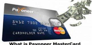 What Is Payoneer MasterCard - Payoneer Mastercard