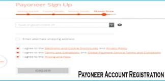 Payoneer Account Registration - www.Payoneer.com