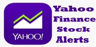 Yahoo Finance Stock Alerts - Yahoo Stocks