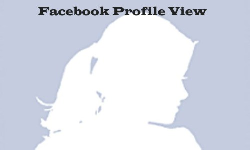 Facebook Profile View - How to Hide My Profile