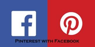 Pinterest with Facebook - Log In Pinterest Via Facebook