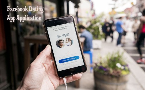 Facebook Dating App Application