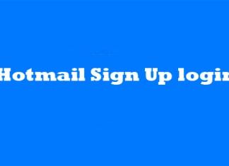Hotmail Sign Up login