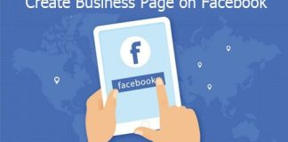 Create Business Page on Facebook