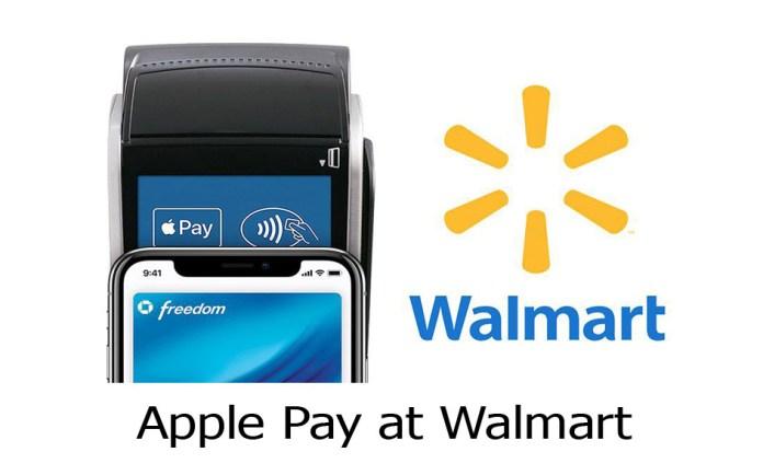 Apple Pay at Walmart