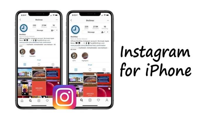 Instagram for iPhone