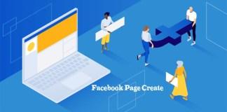 Facebook Page Create