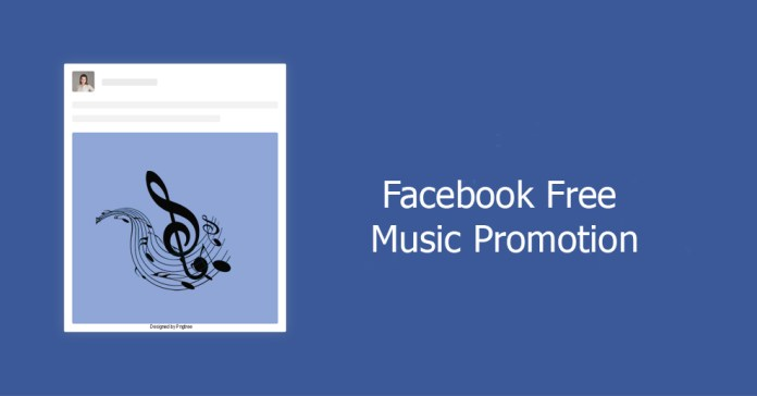 Facebook free music promotion