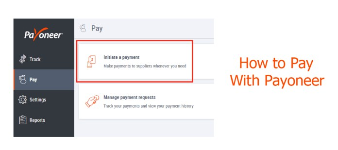 How to Pay With Payoneer