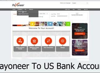 Payoneer To US Bank Account