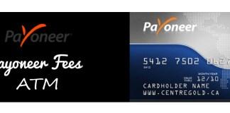 Payoneer Fees ATM