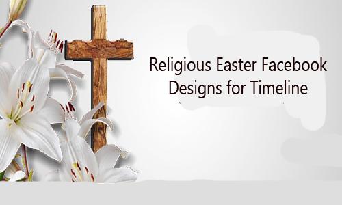 Religious Easter Facebook Designs for Timeline
