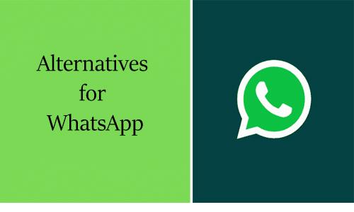 Alternatives for WhatsApp