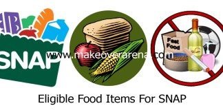 Eligible Food Items For SNAP