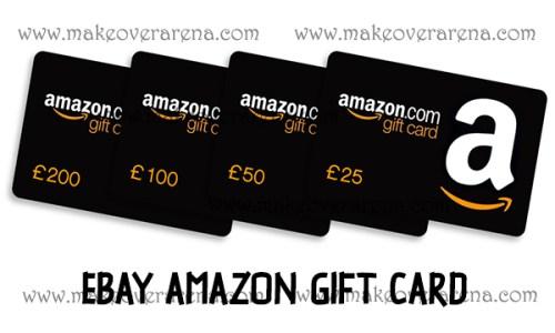 eBay Amazon Gift Card