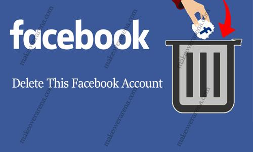 Delete This Facebook Account