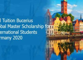 Full Tuition Bucerius Global Master Scholarship for International Students Germany 2020