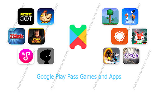 Google Play Pass Games and Apps