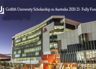 Griffith University Scholarship in Australia 2020-21- Fully Funded