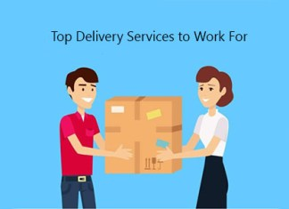 Top Delivery Services to Work For