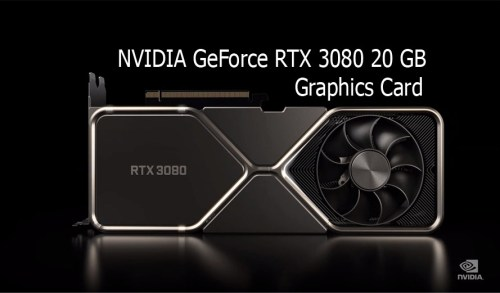 NVIDIA GeForce RTX 3080 20 GB Graphics Card Confirmed By Gigabyte