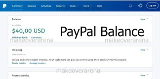 PayPal Balance