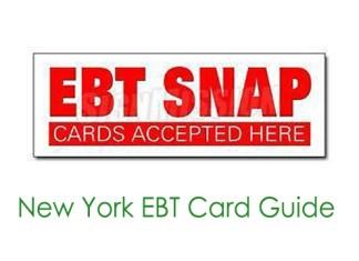 New York EBT Card Guide