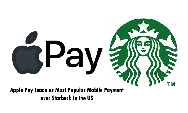 Apple Pay Leads as Most Popular Mobile Payment over Starbuck in the US