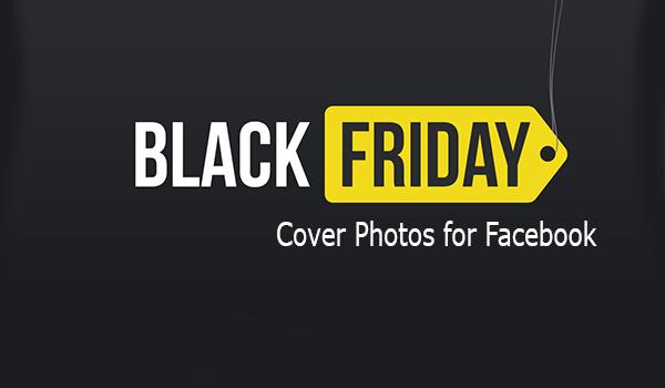 Black Friday Cover Photos for Facebook