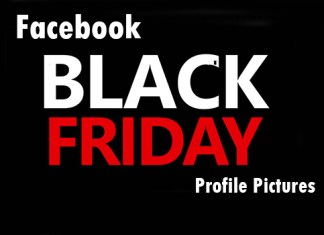 Facebook Black Friday Profile Pictures