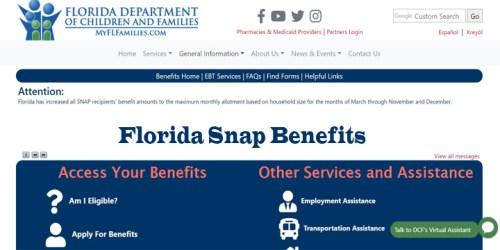 Florida Snap Benefits