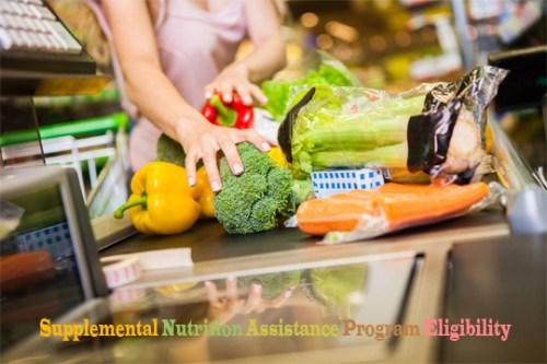 Supplemental Nutrition Assistance Program Eligibility