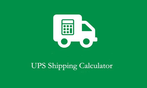UPS Shipping Calculator