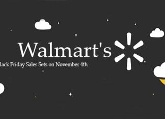 Walmart's Black Friday Sales Sets on November 4th