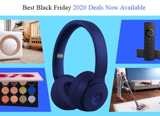 Best Black Friday 2020 Deals Now Available