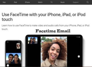 Facetime Email