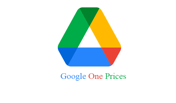 Google One Prices
