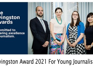 Livingston Award 2021 For Young Journalists