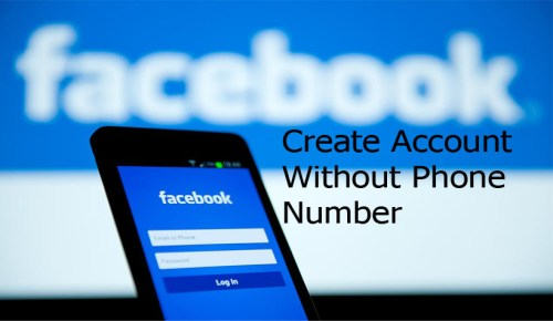 Facebook Create Account Without Phone Number