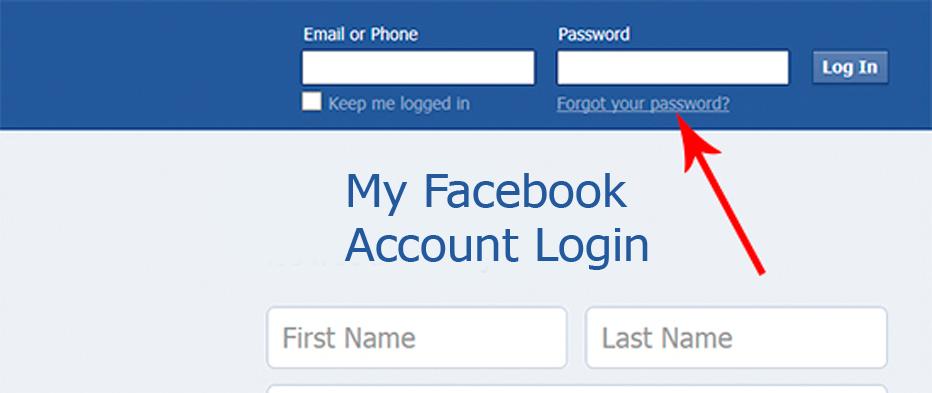 Login facebook com Facebook