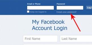 My Facebook Account Login